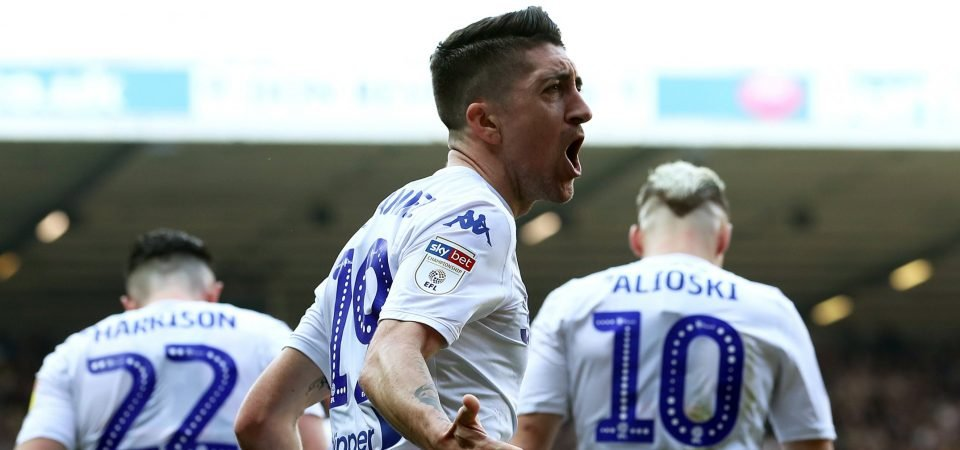 Leeds fans astonished as the EFL overlook Pablo Hernandez again