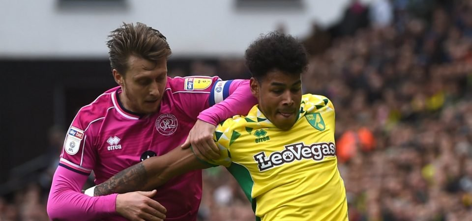 Luke Freeman had an afternoon to forget for QPR vs Norwich