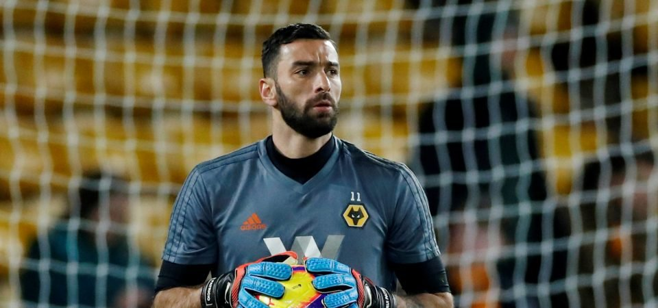 Panini Tabloid Sticker Pack - Wolves fan HRH talks Rui Patricio