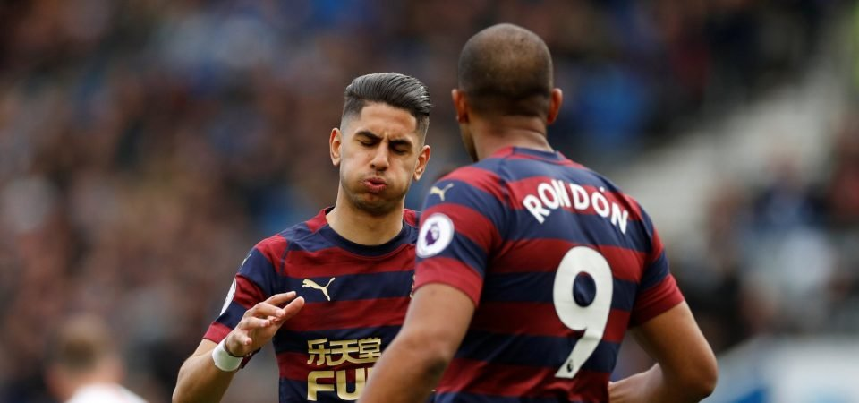 The Chalkboard: Rondon must be Newcastle's number one target this summer