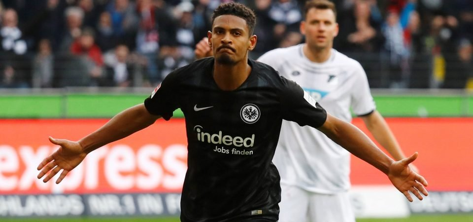 West Ham line up bid for Frankfurt striker Haller