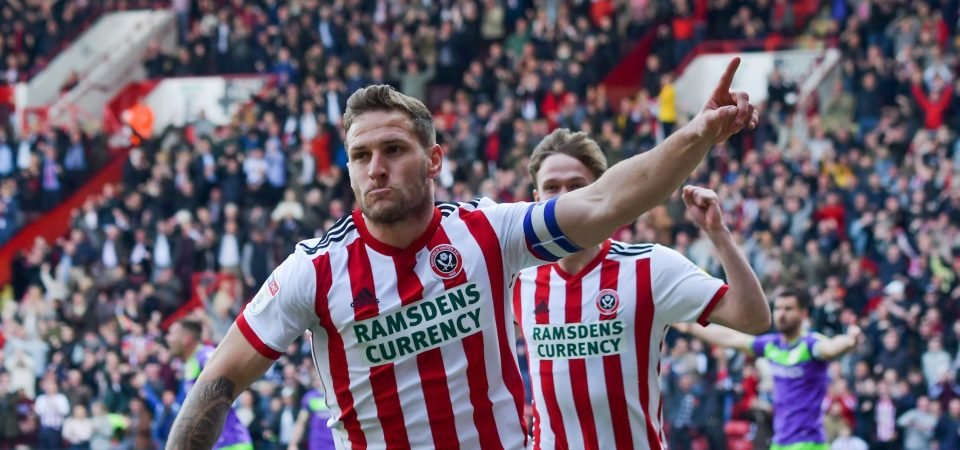 Legend: Sheffield United fans praise Sharp as he picks up individual accolade
