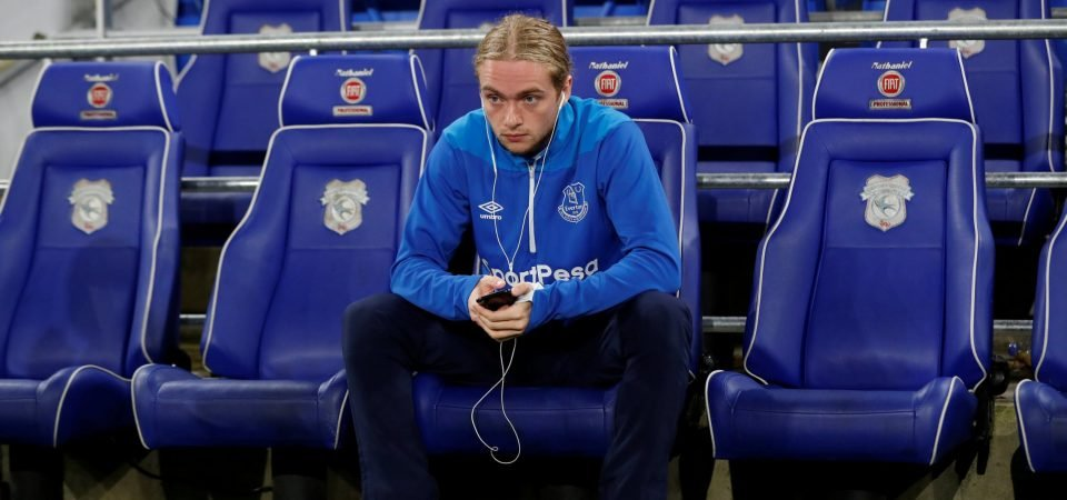 Everton man Tom Davies could have important role to play in Andre Gomes absence