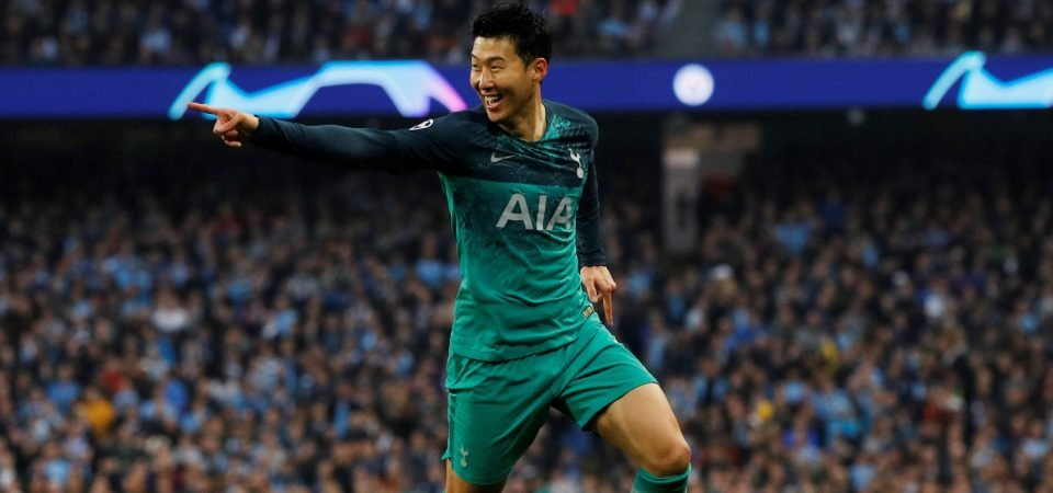 Man United fans react to Son's brilliant Tottenham display vs Man City
