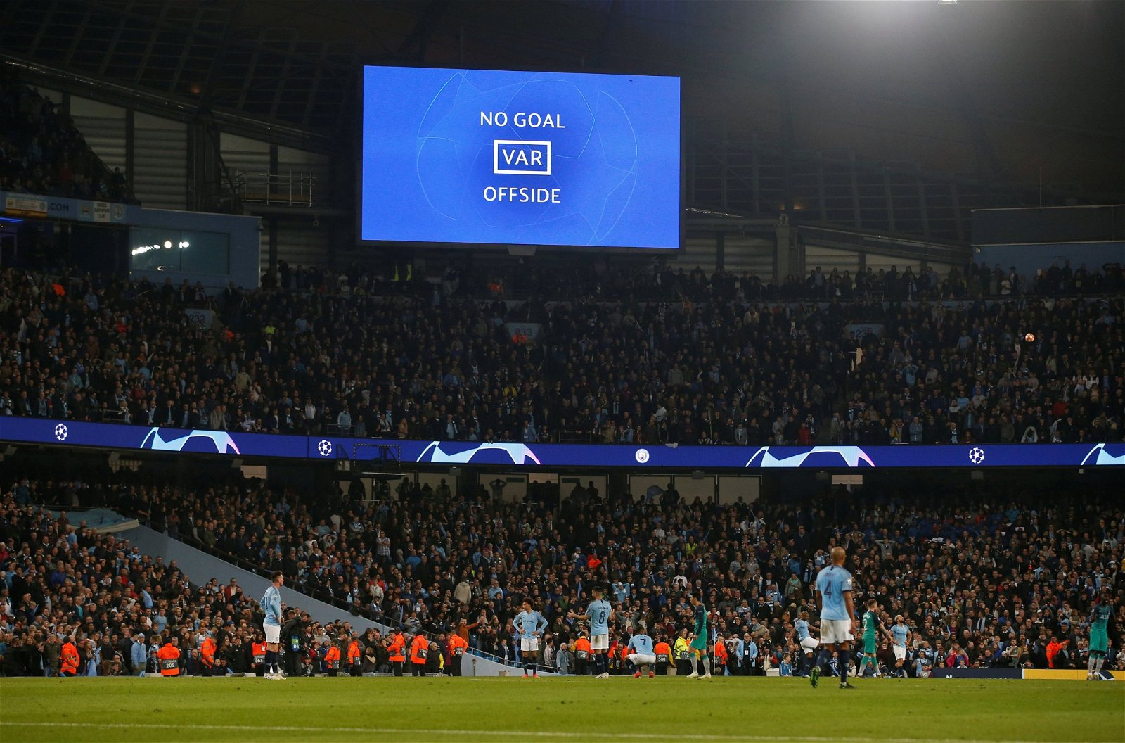 Man City and Spurs the latest actors in VAR's sinister reality TV experiment