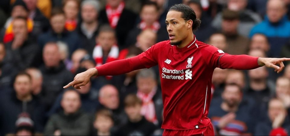Extremely rash: Simon Johnson's take on Virgil van Dijk's record transfer has aged horrendously
