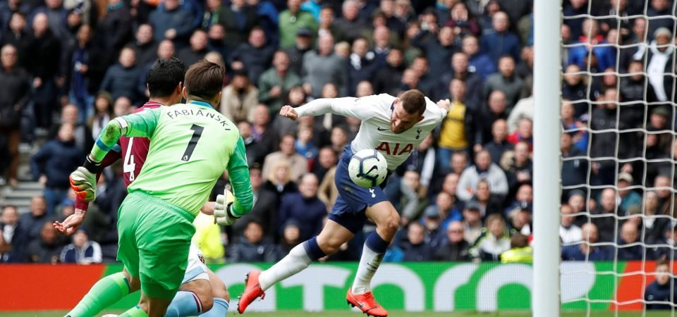Spurs fans gutted with Janssen's cameo display against West Ham