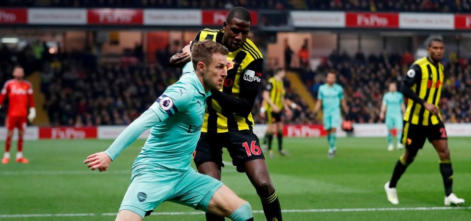 Arsenal fans want to sign Abdoulaye Doucoure after Watford display against them