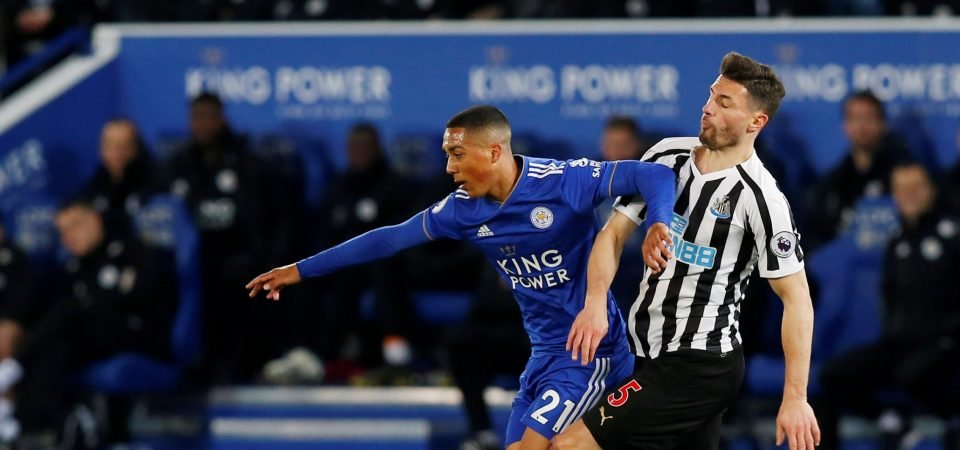 Leicester need to focus on Choudhury, rather than Tielemans