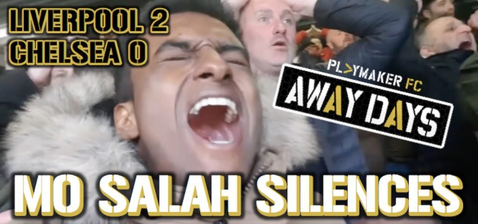 Watch: Chelsea fans silenced by Liverpool's Mane and Salah