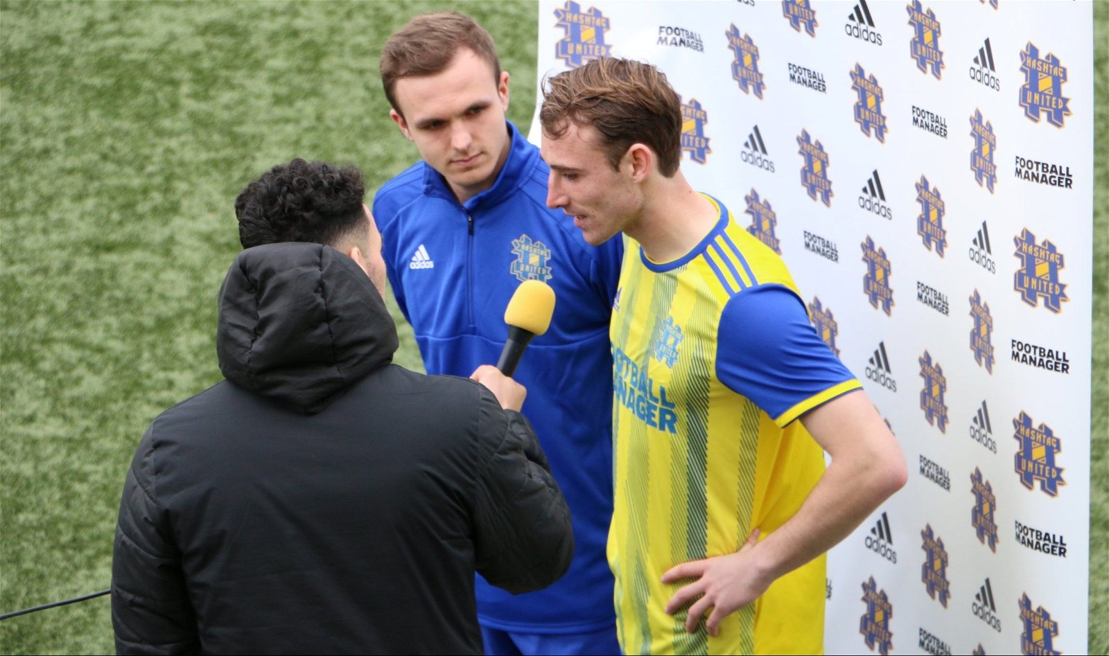 Fantastic: Albie and Cain share their thoughts on the 4-0 win over Braintree Town Reserves