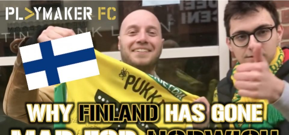 Watch: Why Finland has gone mad for Norwich City