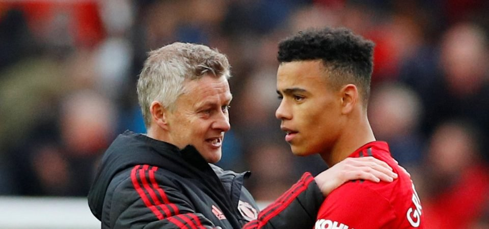 Angel Gomes sends message to Mason Greenwood after Man United debut