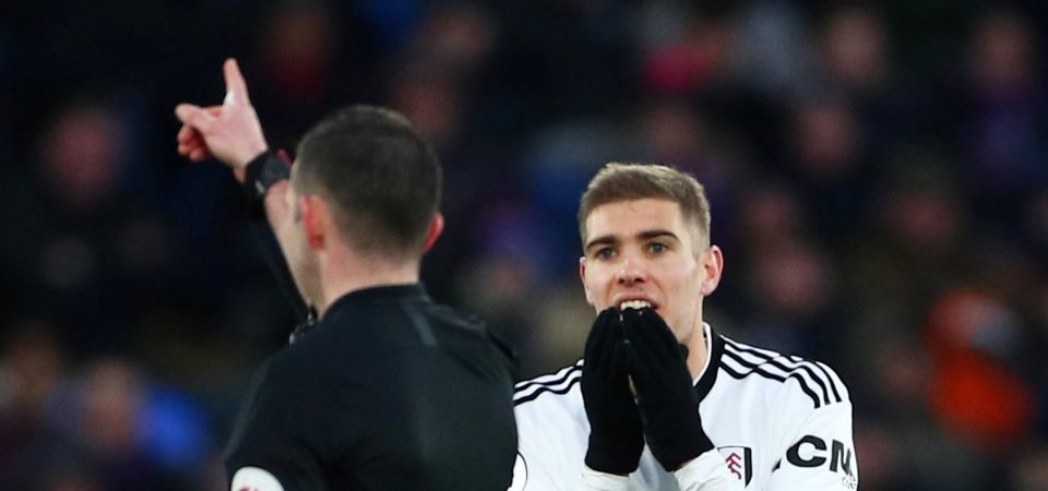 Interest in Fulham's Maxime Le Marchand emerges