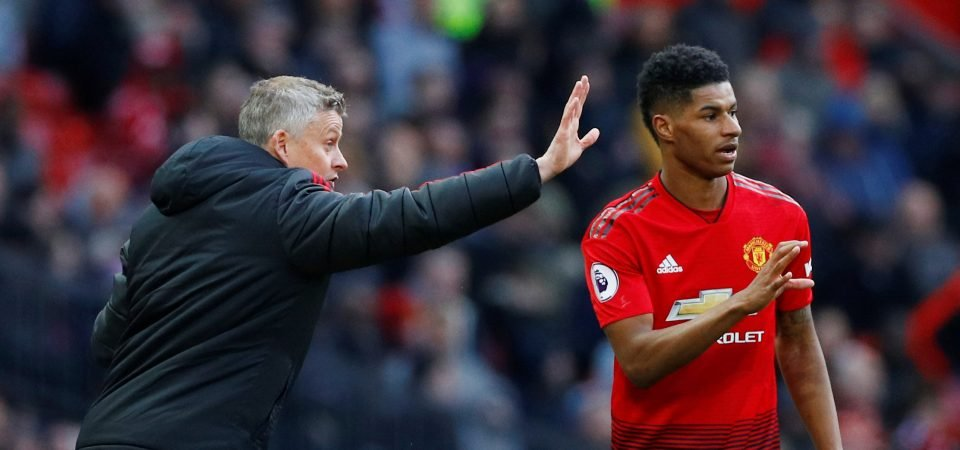 Back off! Manchester United fans tell Barcelona to leave Marcus Rashford alone