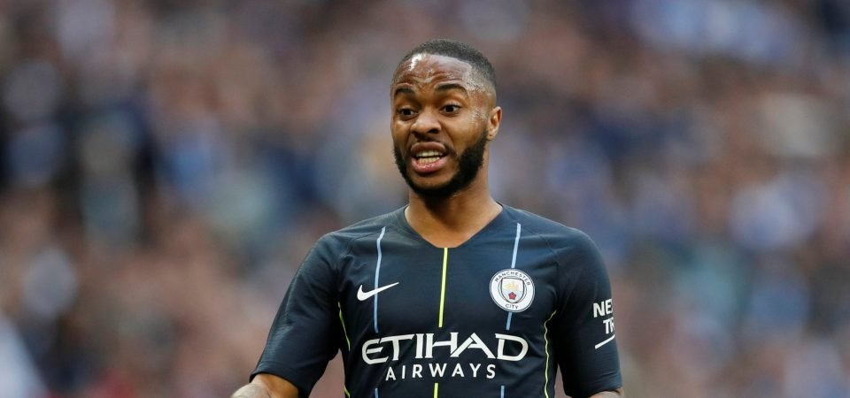 Raheem Sterling shares late night workout video on Instagram
