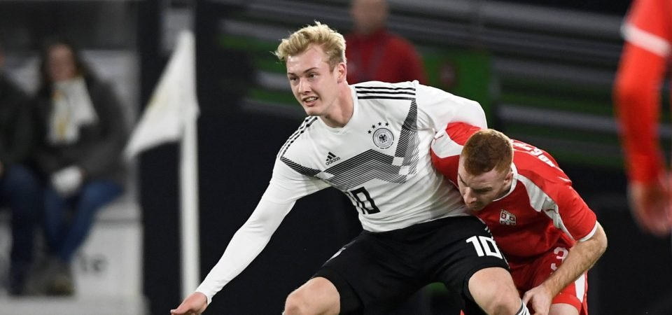 Tottenham fans are loving links to Julian Brandt