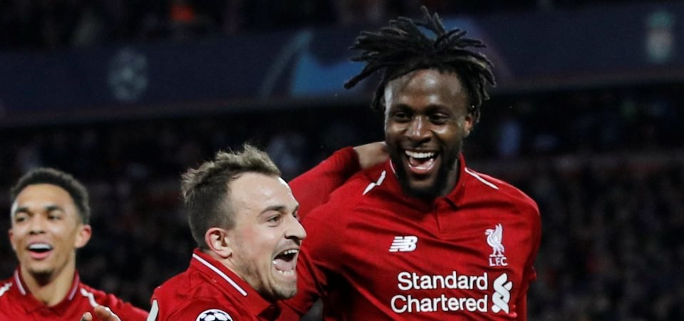 Deserves a statue: Liverpool fans lavish praise on two-goal Divock Origi