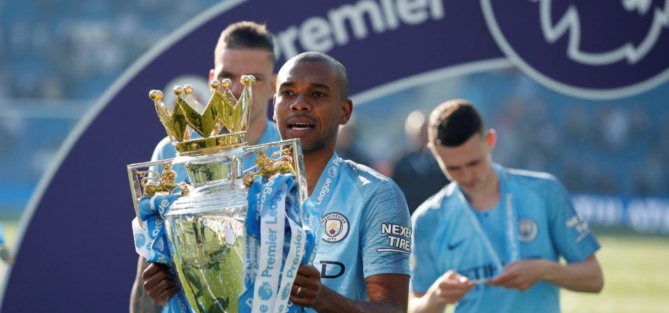 Manchester City: Fernandinho new contract would be a huge boost for Guardiola
