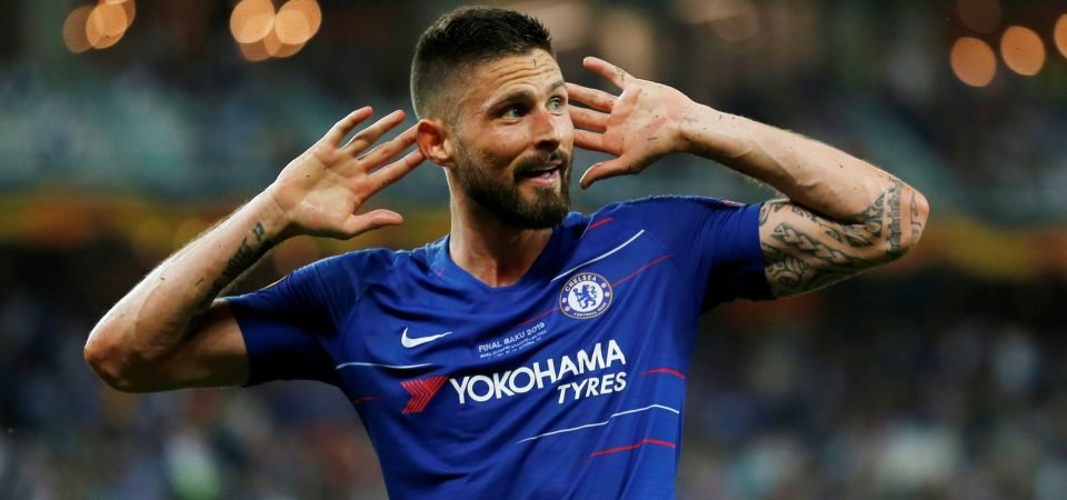 Ex-Chelsea man Frank Leboeuf suggests that Giroud should leave Stamford Bridge