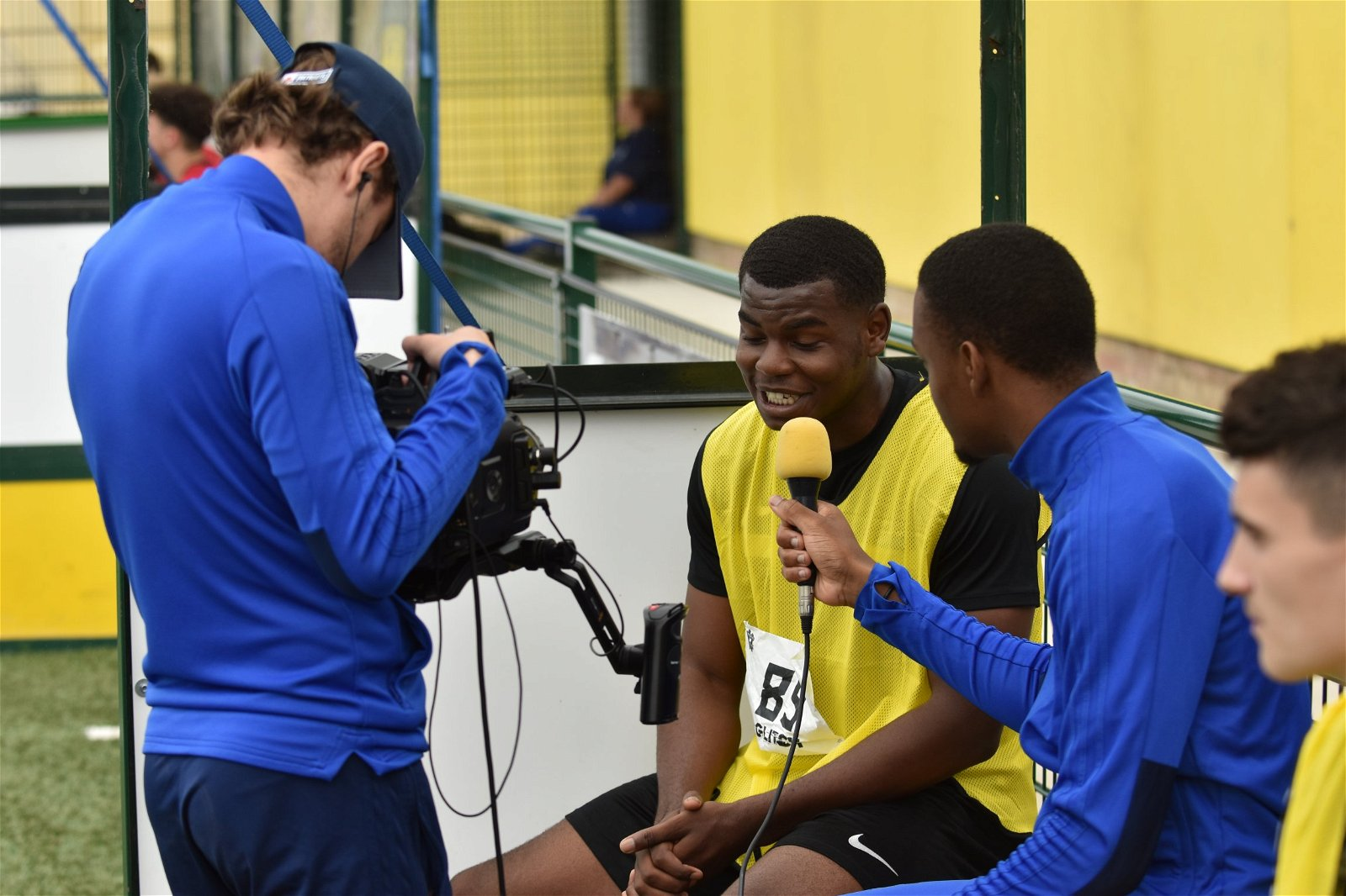3 HASHTAG ACADEMY 7 trialist is interviewed - [Images] - Take a look at the best photos from the third day of the Hashtag Academy!