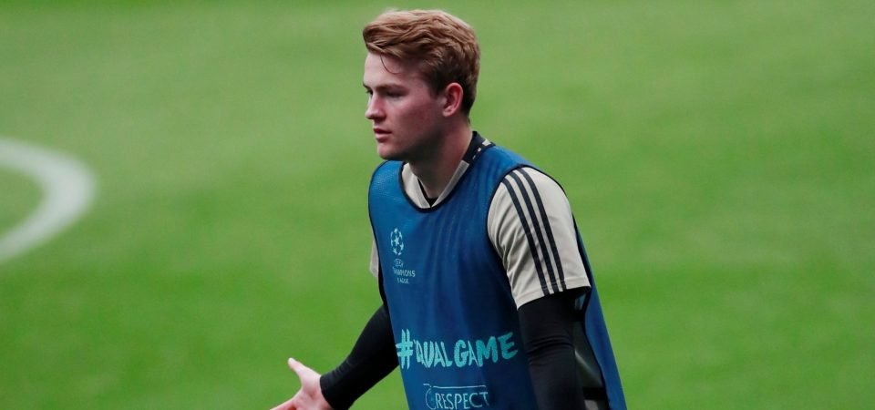 Manchester United fans want club to sign Matthijs de Ligt after latest Ajax display