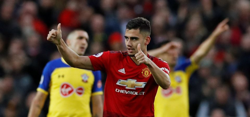 Manchester United fans react to new contract talks for Andreas Pereira