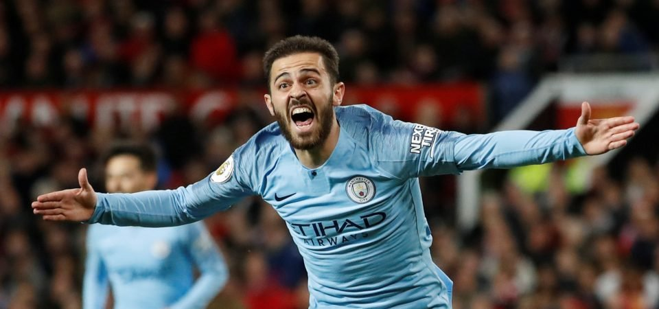 Man City fans may have mixed feelings after Bernardo Silva's showing for Portugal