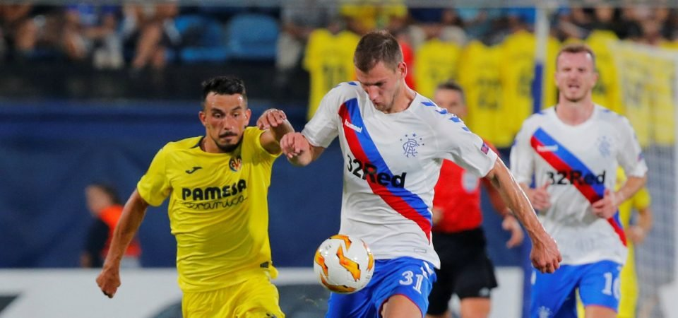 Rangers fans are fuming at Borna Barisic's latest disappointing display