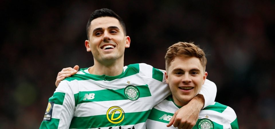 The Chalkboard: Celtic will be laughing if they receive big Rogic bid after Old Firm display