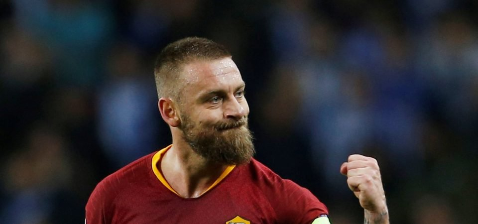 Pundit View: Ian Wright's calls for De Rossi signing are bang on the money
