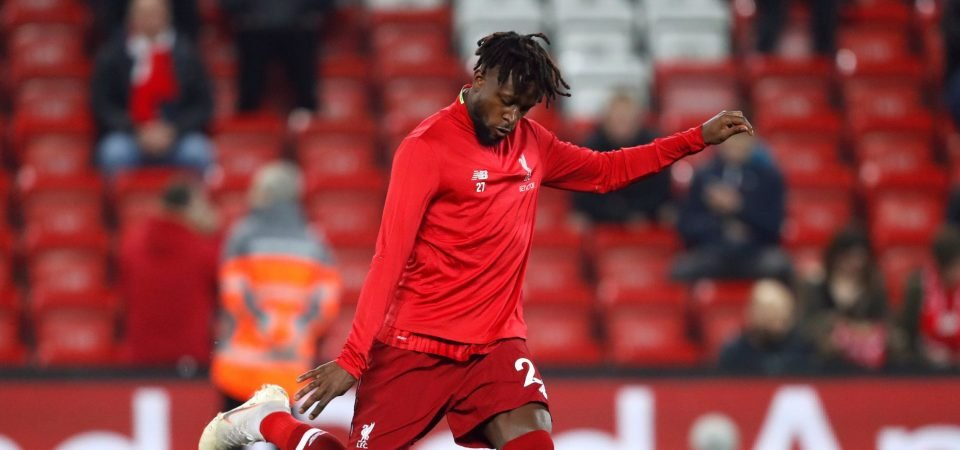 [Image] - The Divock Origi photo no Liverpool fan would have expected to see against Barcelona