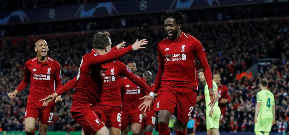 Liverpool fans call for Divock Origi to start the Champions League final