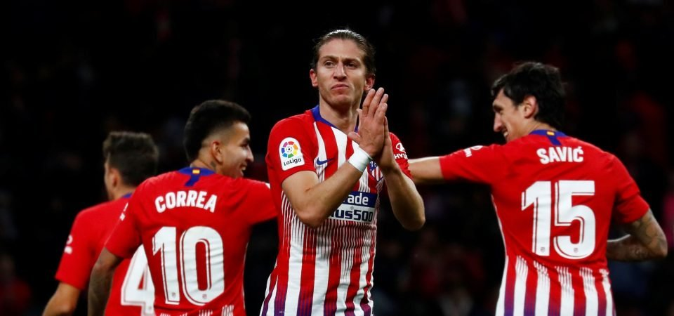 Ruben Vinagre could be in trouble if Filipe Luis joins Wolves