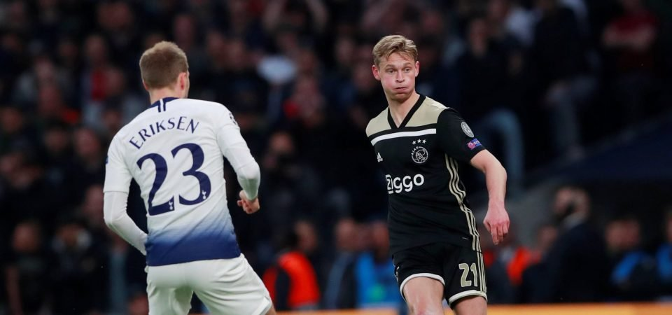 The Chalkboard: De Jong's performance is a glimpse into the Utopian footballing vision of Sarri