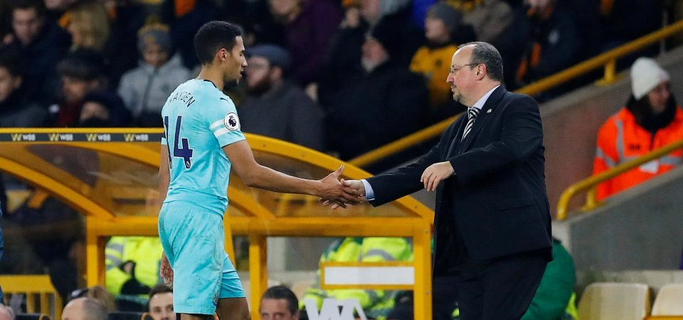 Thanks for everything: Newcastle fans wish Isaac Hayden well
