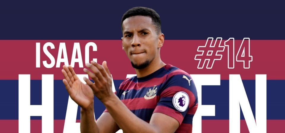 Player Zone: Isaac Hayden becoming Newcastle's main man in midfield