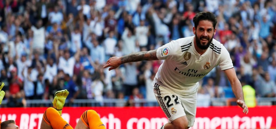 Real Madrid's Isco must take his chance against Mallorca