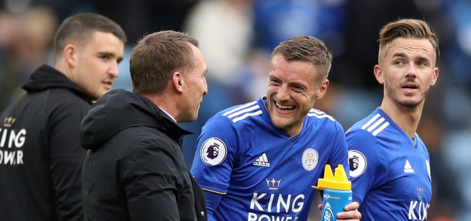 Nonsense: Leicester fans are baffled by comments on Vardy