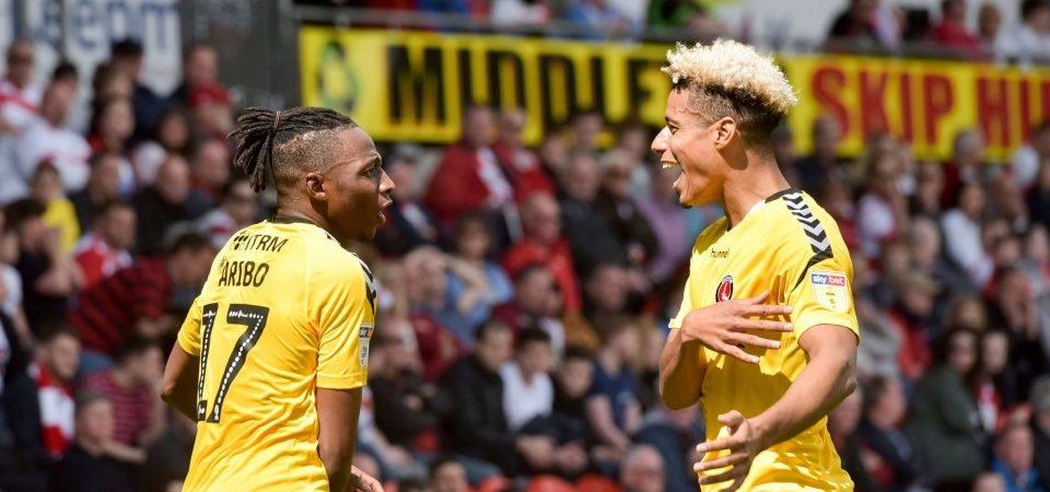 Image: Lyle Taylor goal epitomises the spirit at Charlton under Lee Bowyer