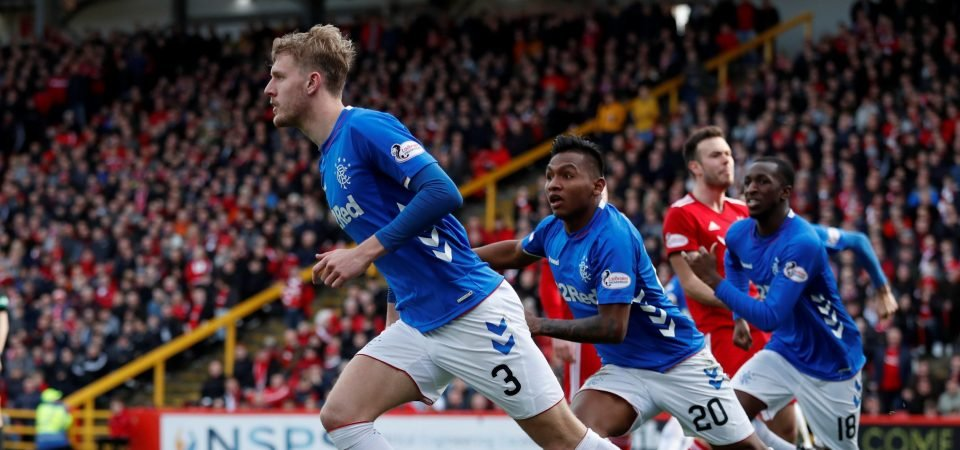 Rangers fans will be glad to see the back of Joe Worrall after Killie display