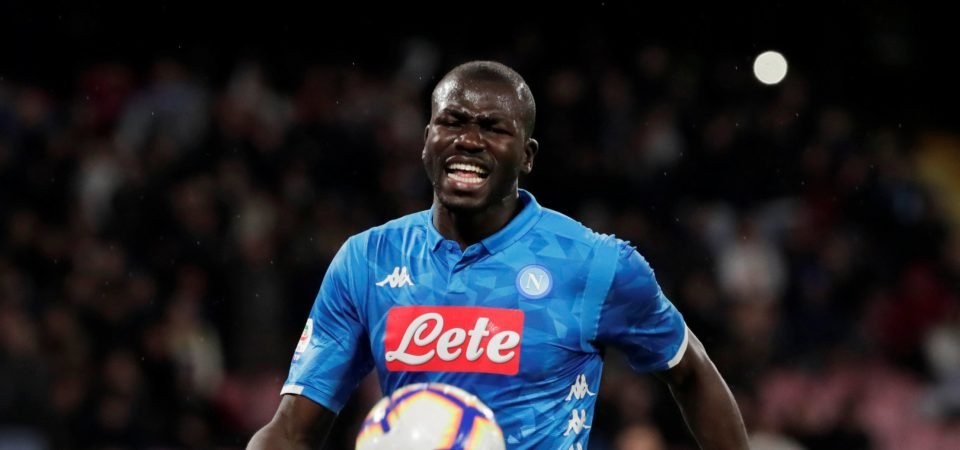 Real Madrid set to rival Man United & Chelsea for Napoli's Kalidou Koulibaly