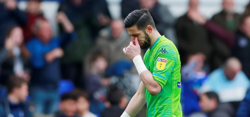 Leeds fans blast embarrassing Kiko Casilla after error against Salford