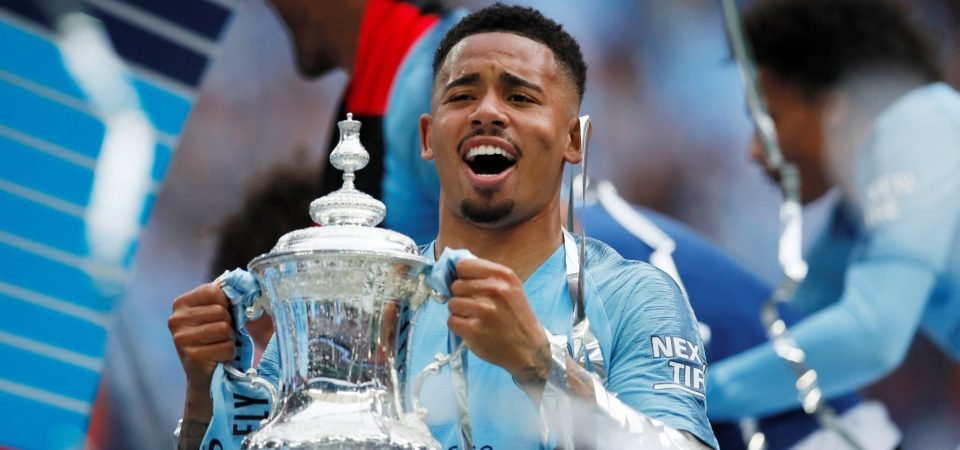 Man City fans react to Gabriel Jesus' display in FA Cup final thrashing