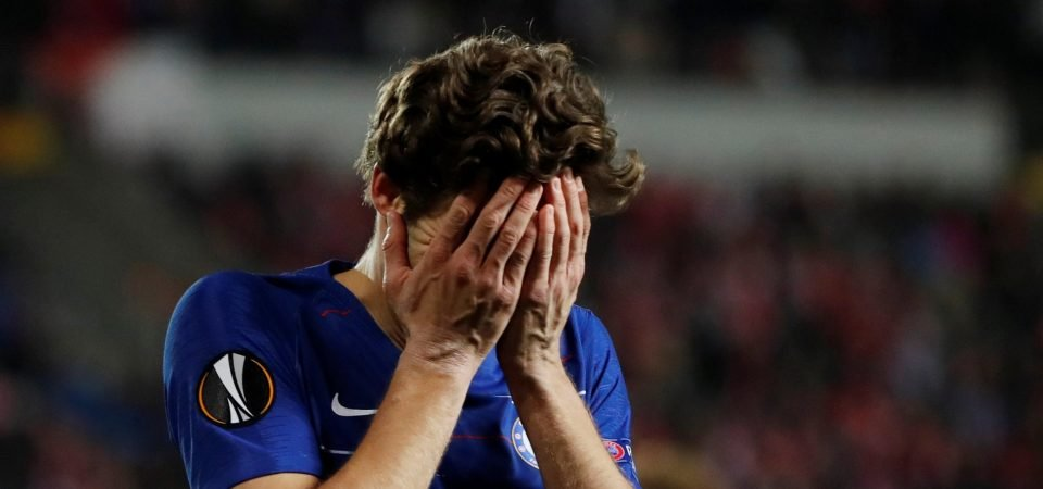 Crystal Palace must avoid Chelsea left-back Marcos Alonso at all costs