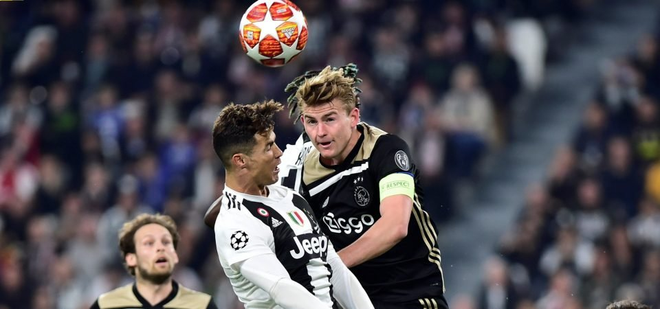 Liverpool fans take to Twitter to call for De Ligt