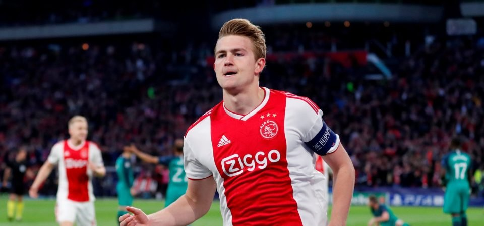 Liverpool fans are convinced de Ligt will join this summer