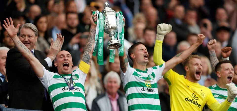 Celtic fans love what is likely Mikael Lustig's final Hoops contribution