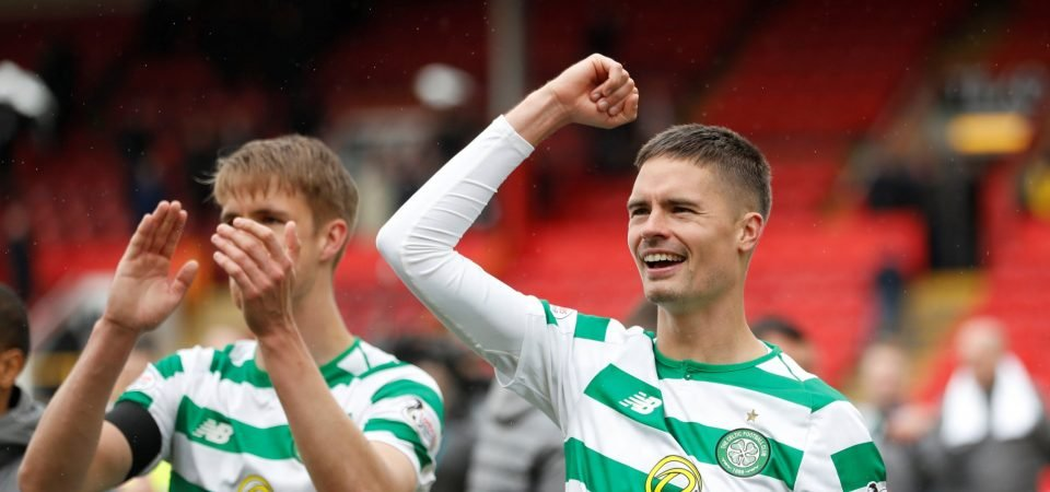 Celtic fans want Mikael Lustig to get another contract at the club