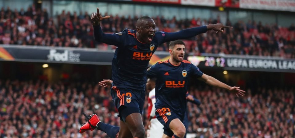 Newcastle United make offer for Valencia's Mouctar Diakhaby